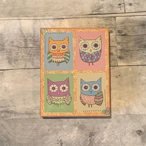 Owl note cards w/ envelopes-Cute and sparkly! 🦉